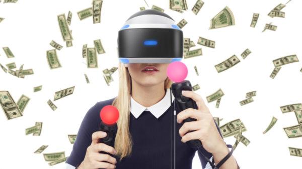 PlayStation VR playstation money argent VR PS4