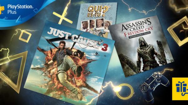 PlayStation Plus d'août2017