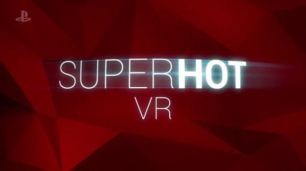 test SUPERHOT VR ps4