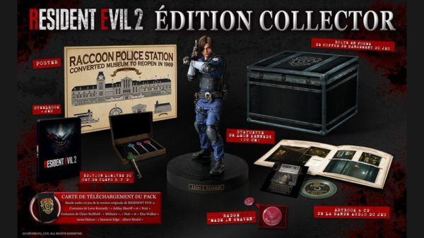 édition Collector de Resident Evil 2